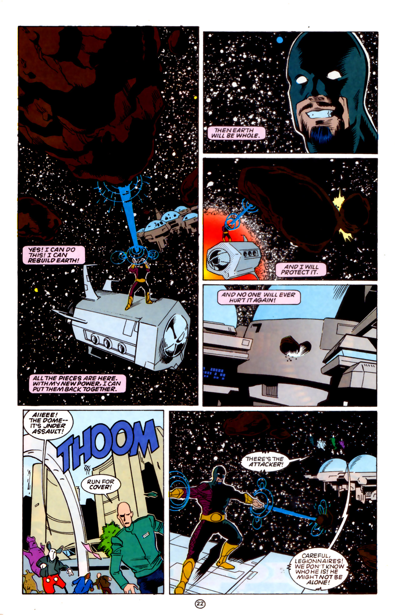 Legion of Super-Heroes (1989) 59 Page 22
