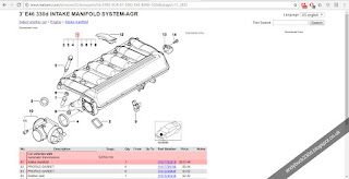 RealOEM.com 330d Intake Manifold Schematic