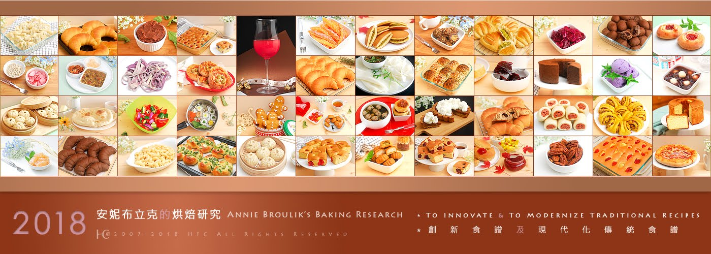 Annie Broulik's Baking Research
