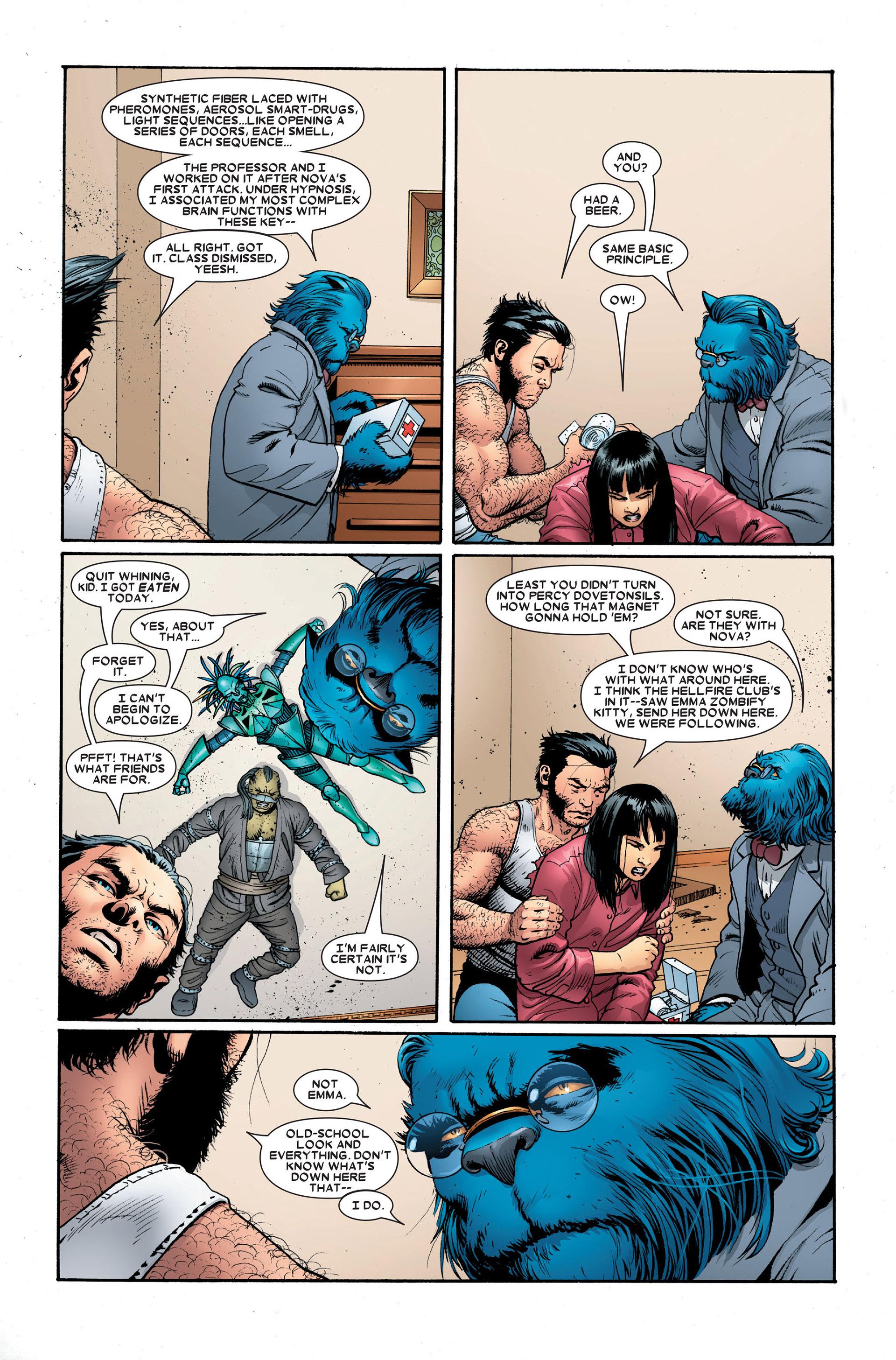 Read online Astonishing X-Men (2004) comic -  Issue #18 - 15