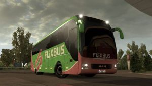 Lions Coach Flixbus Skin for MAN Bus V 1.1