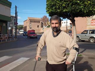 Creador del blog CAMINANDO CON MULETAS