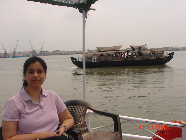 Boat ride in The backwaters of Cochin