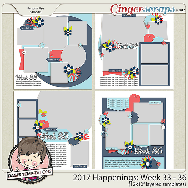 Dagi's Temp-tations Happenings Week2 33-36