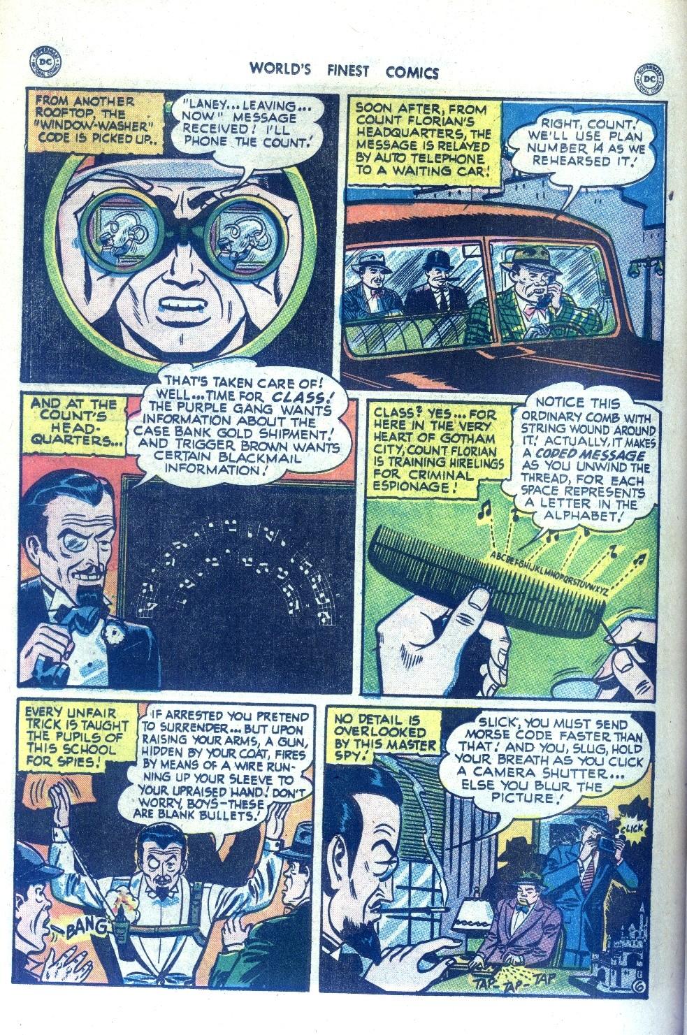 Read online World's Finest Comics comic -  Issue #43 - 66