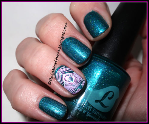 Bluebird Lacquer ~ Shake a Teal Feather
