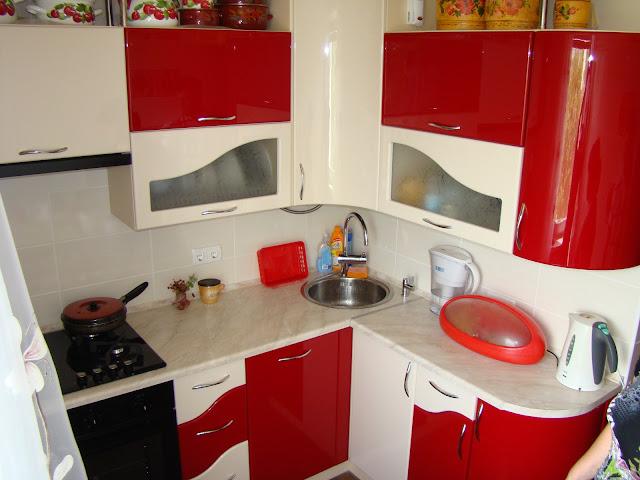 Купить кухню из пластика акрила