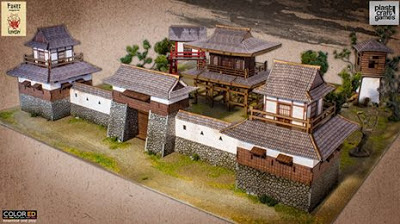 PlastCraftGames: New Pre-Painted Kensei Japanese Scenery