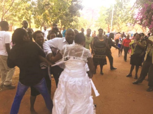 Imagine a Wedding Ceremony Where Your Husband's Marrying His Girlfriend, It Actually Happened Real Life… See What Went Down!