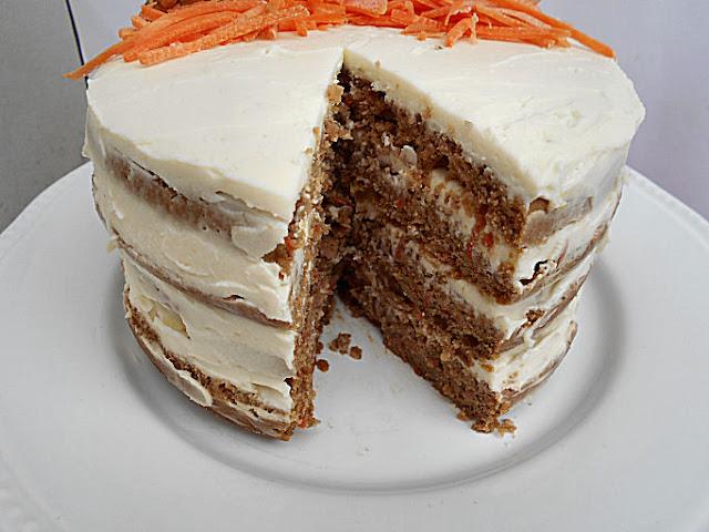 bolo de arroz noz e cenoura