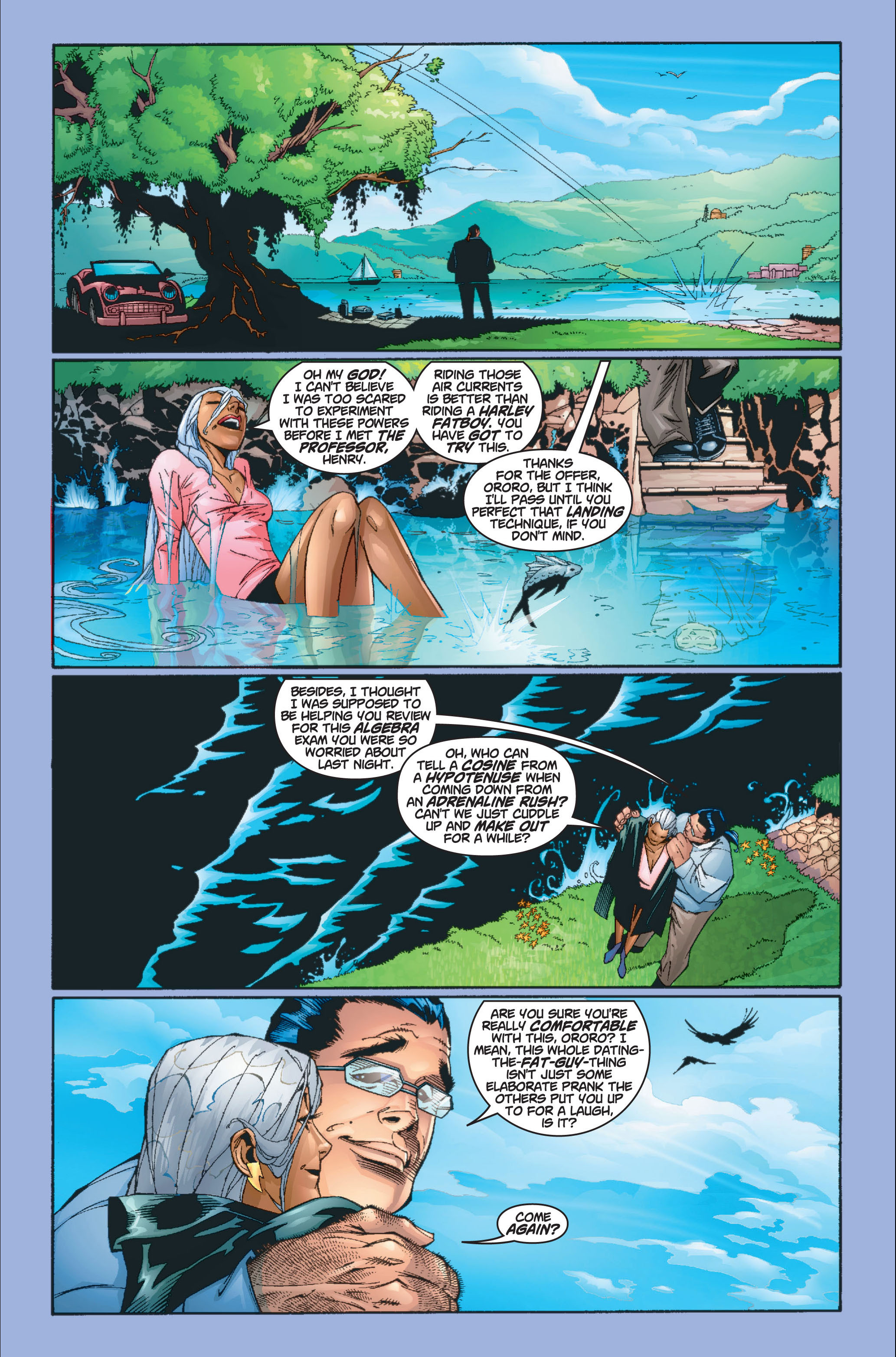 Read online Ultimate X-Men comic -  Issue #8 - 8