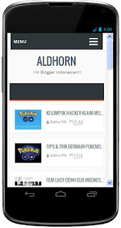 Download Aplikasi Blog AldhoRN