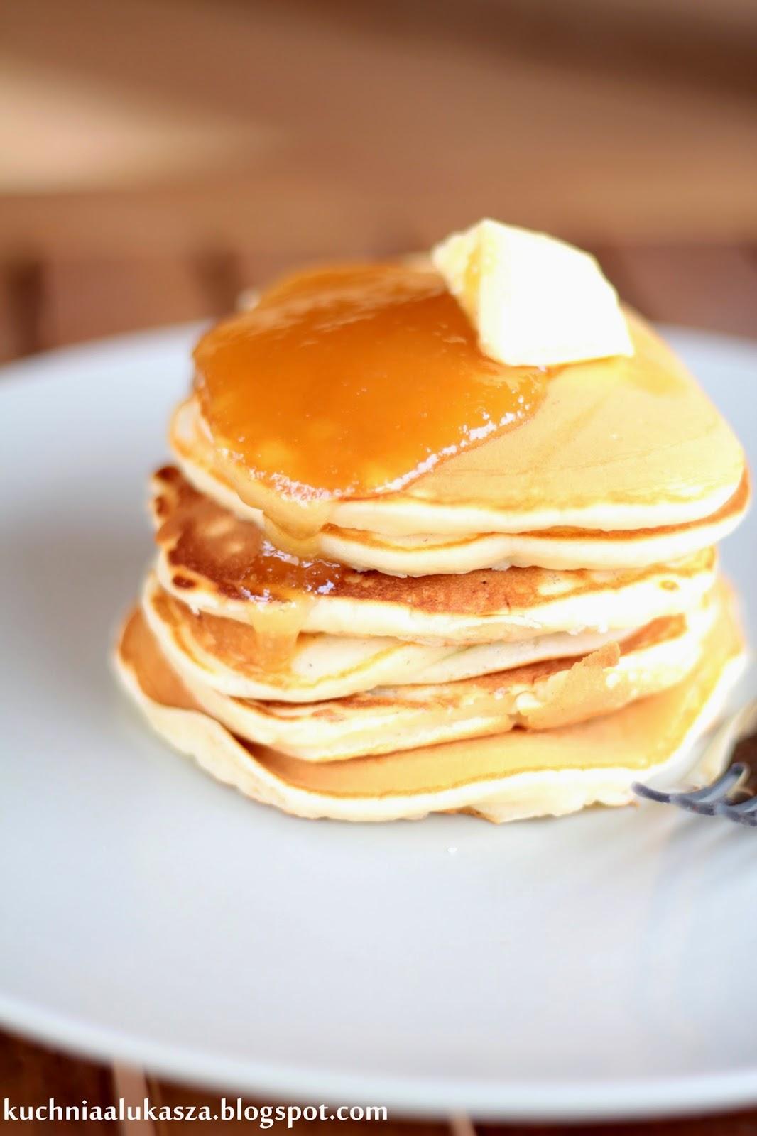Amerykańskie naleśniki- Pancake (pankejki).