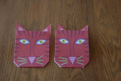 origami kittys