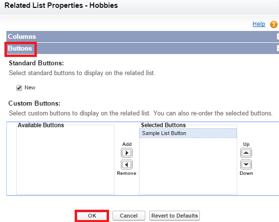 Infallible Techie How To Add Custom Button To Related List In