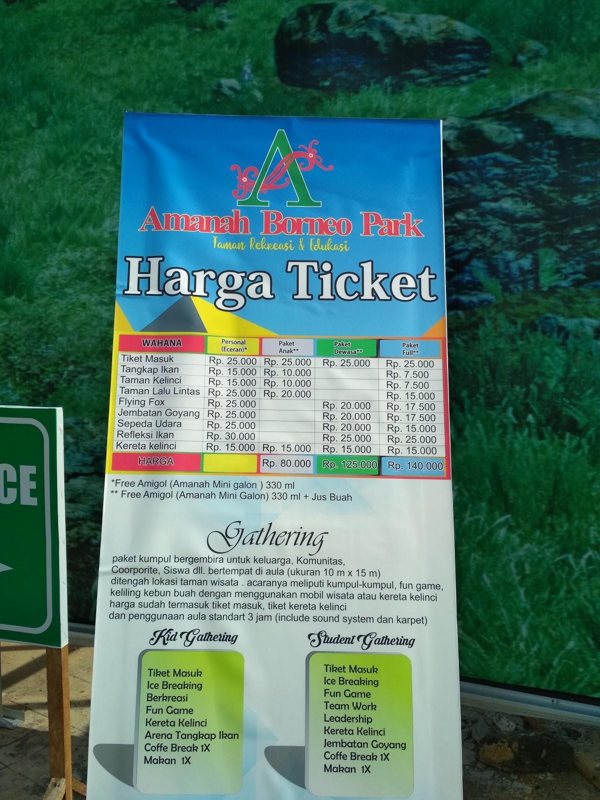 Berwisata Ke Amanah Borneo Park Www Ayanapunya Com