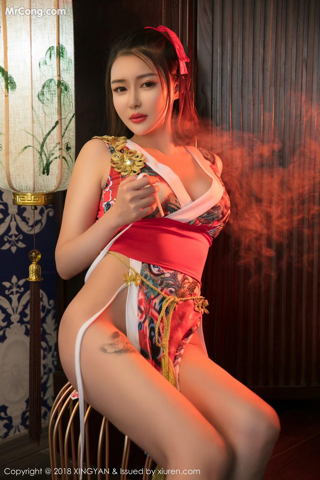 Image XingYan-Vol.028-MrCong.com-020 in post XingYan Vol.028: Người mẫu 廿十 (41 ảnh)