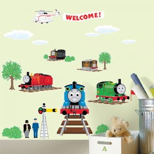 Jual Wall Sticker Thomas And Friends - Stiker Dinding Murah