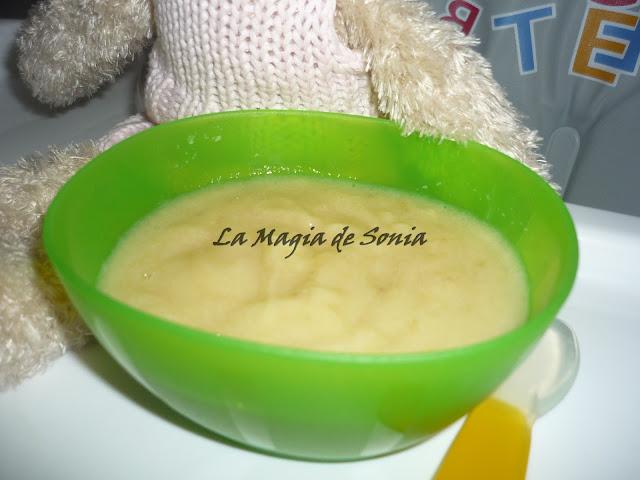 La magia de sonia papilla de frutas con cereales beb s - Cereales bebe 5 meses ...