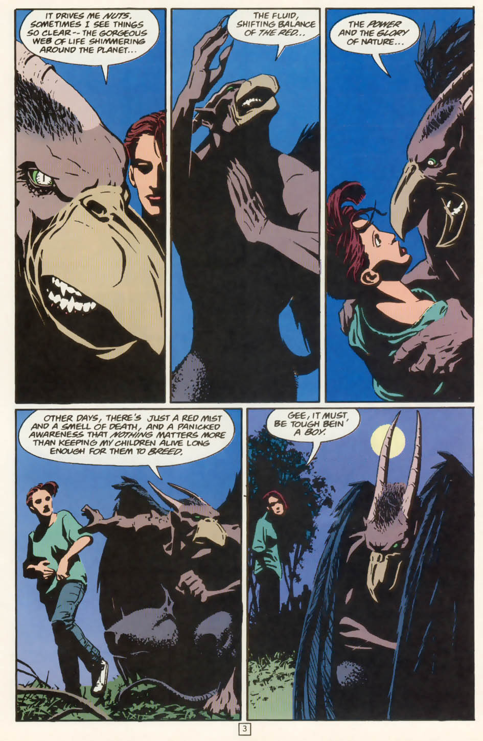 Read online Animal Man (1988) comic -  Issue #77 - 4