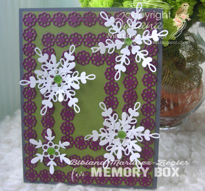 christmas different color combo snowflakes front