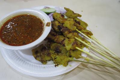 Geylang Corner Food Stall, satay