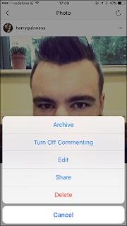 Cara Mengarsipkan Postingan di Instagram