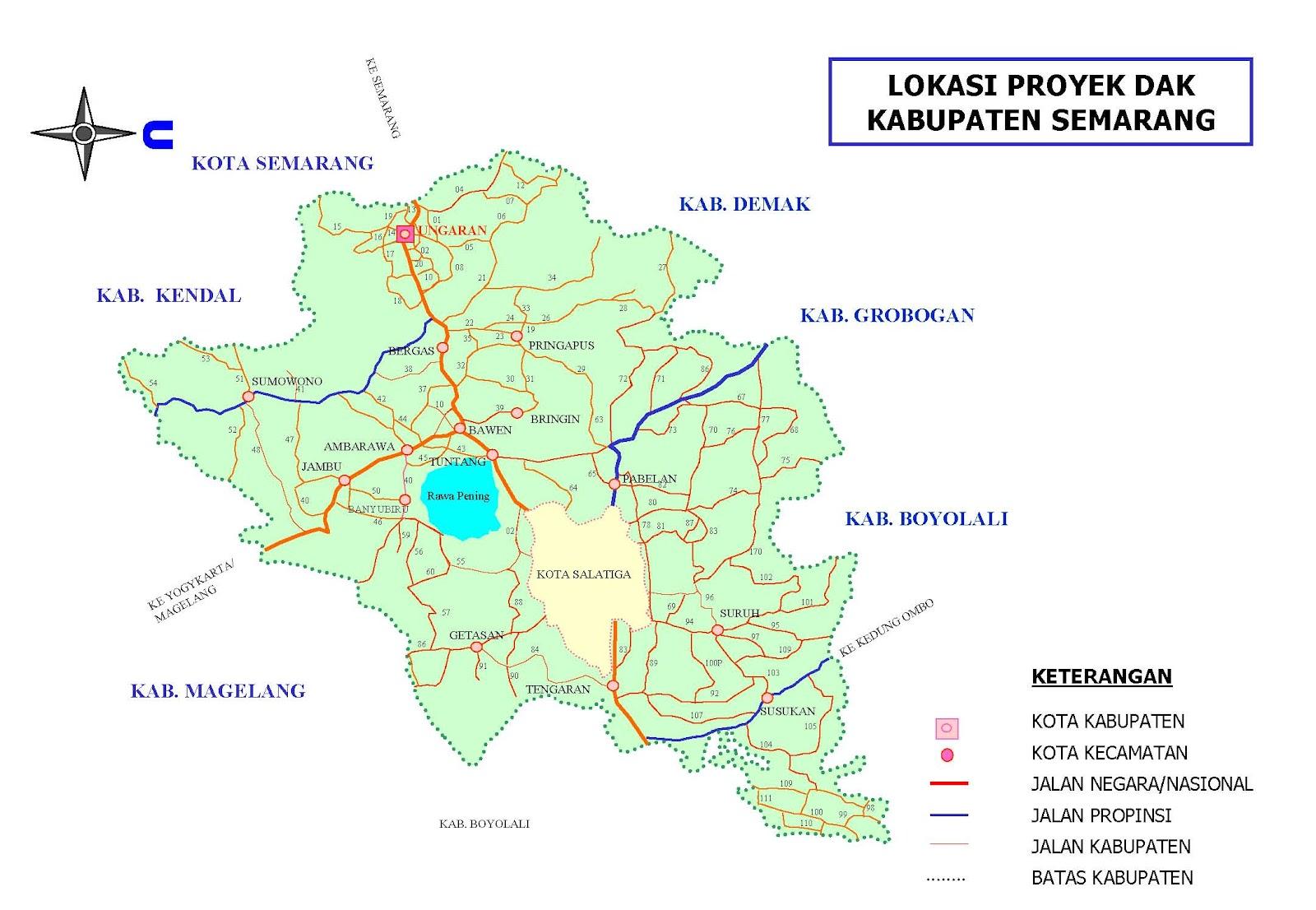 Map Semarang Tengah