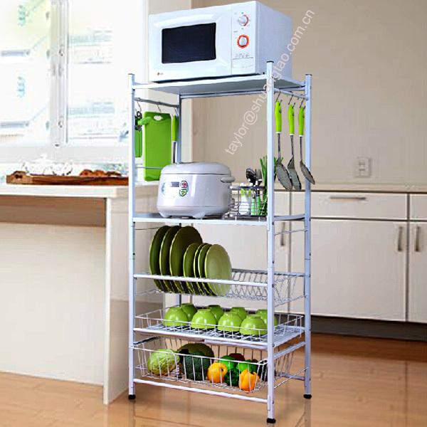 55 Desain Rak Dapur Minimalis dan Gantung   Desainrumahnya.com