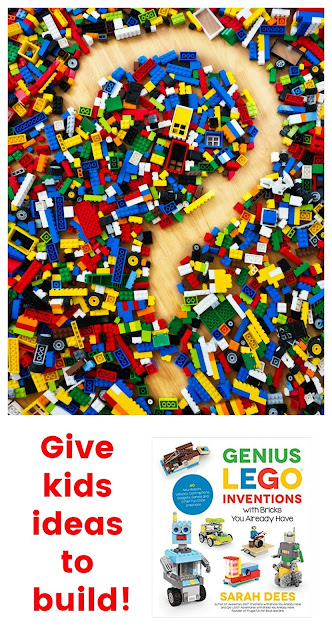 Announcing the Innovative Book, Genius Lego Inventions