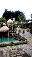 kolam villa penginapan d giv ciater