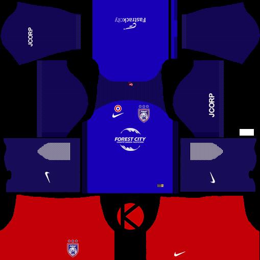 e70057918 Johor Darul Takzim Kits 2018 - Dream League Soccer Kits - Kuchalana