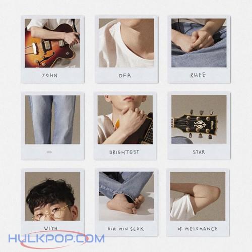 John OFA Rhee – Brightest Star (with Kim MinSeok) – Single