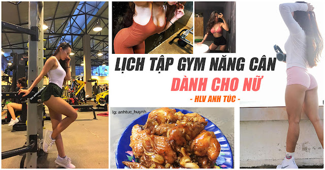 lich tap gym tang can cho nu