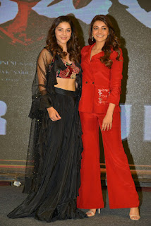Kajal Aggarwal & Mehreen Pirzada At Kavacham Teaser Launch Photos!