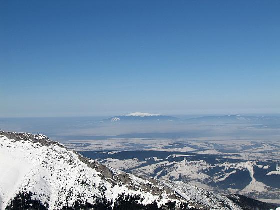 Panorama w stronę Babiej Góry.