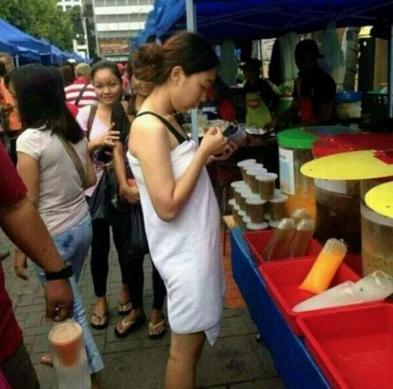 Pakaian Tak Senonoh Di Bazar Ramadan
