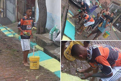 Lucky Boy who was Street Painter 4 Years Ago, is now a Millionaire Football Star