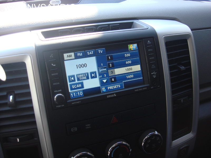 nvs audio 2012 dodge ram backup camera retrofit install. Black Bedroom Furniture Sets. Home Design Ideas