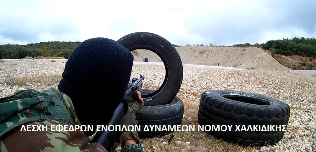 Εκπαίδευση των Εφέδρων Ενόπλων Δυνάμεων Ν.Χαλκιδικής (ΒΙΝΕΟ & ΦΩΤΟ)