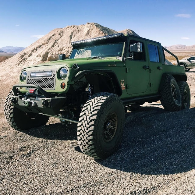 Bruiser Conversions Jeep Wrangler 6*6