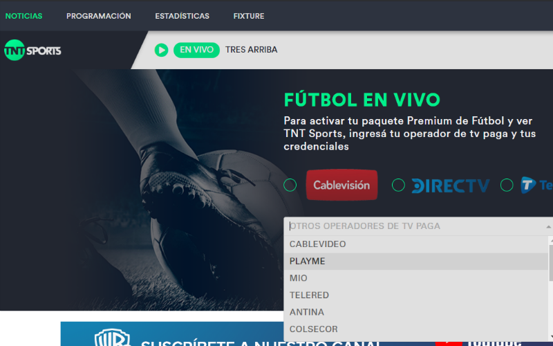 Streaming Football Argentina: Superliga online in live stream