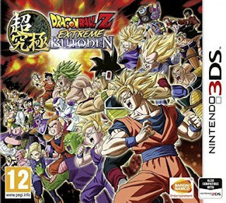 Dragon Ball Z Extreme Butoden, 3ds, Español
