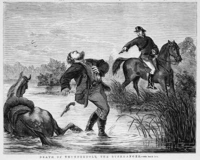 Death of Frederick Ward (aka Captain Thunderbolt)