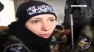 مصدر امني يؤكد ان الف فتاة داعشية سلمت نفسها للقوات الأمنية العراقية في الموصل بعد هزيمة داعش !