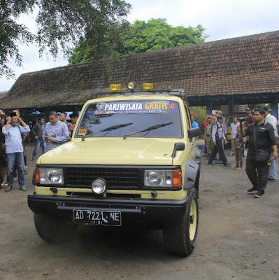 Trooper wisata gratis di Banyuwangi.