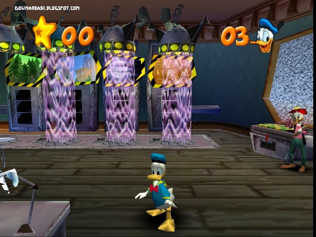 Disney Donald Duck Goin' Quackers (N64) - Download Game PS1