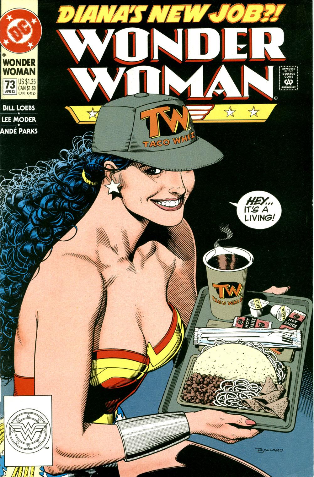 Read online Wonder Woman (1987) comic -  Issue #73 - 2