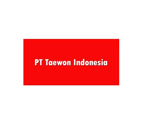 LOKER Via Email | PT.Taewon Indonesia Kawasan Jababeka Cikarang Sebagai Operator Produksi