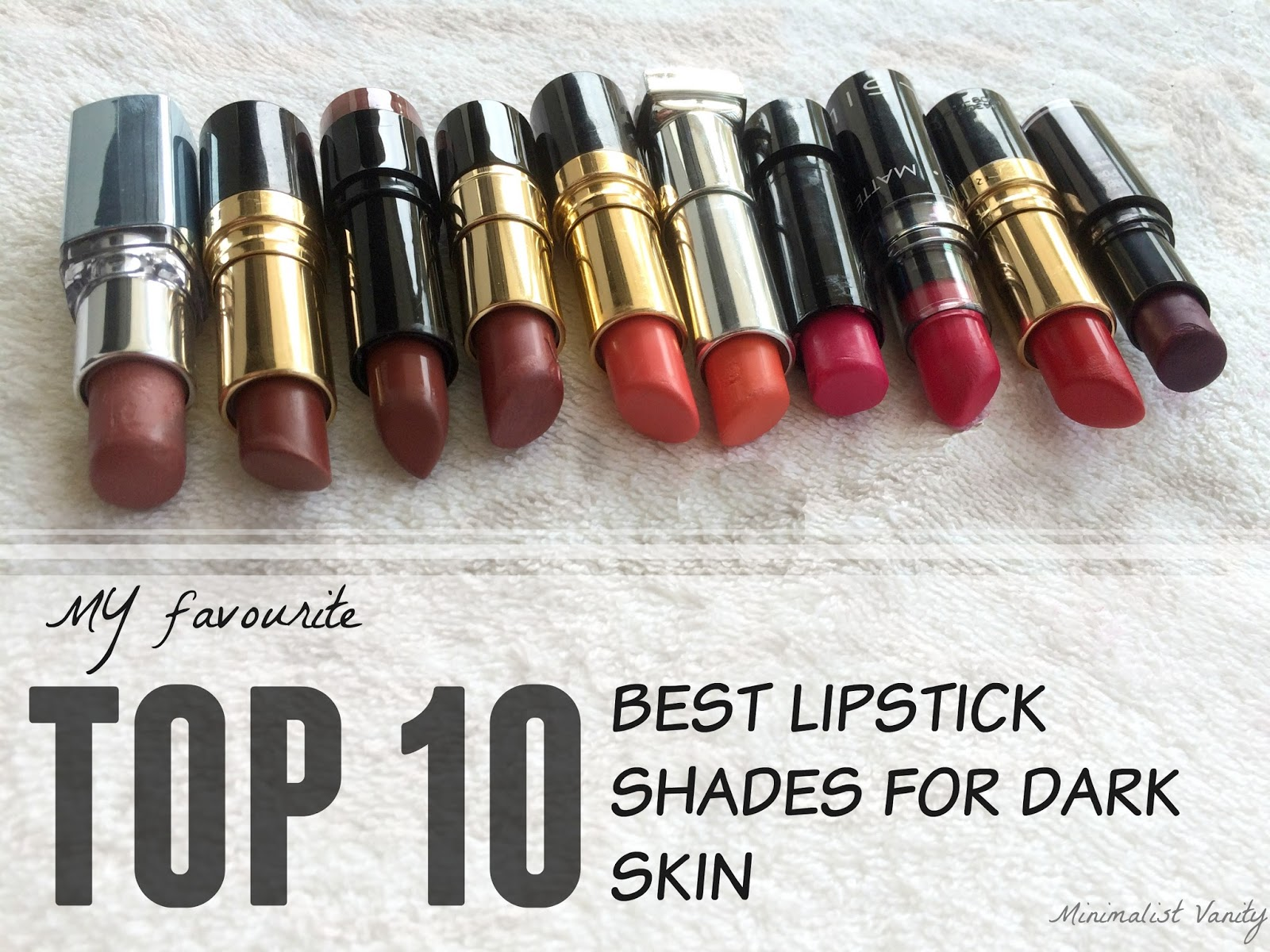 Top 10 Favourite Best Lipsticks For Medium Deep, Indian -1108